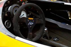 Renault RE40: Lenkrad