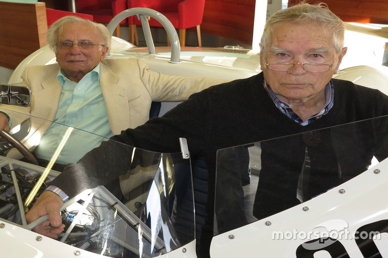 Georges e Claude Gachnang, Maserati Birdcage, Scuderia Cegga