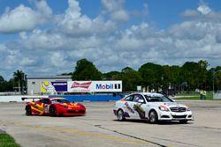 #78 MP3A Mercedes C250, Walter Solalinde, Miami Premium Race, #301 MP1A Ferrari 458, Jonathon Ziegel