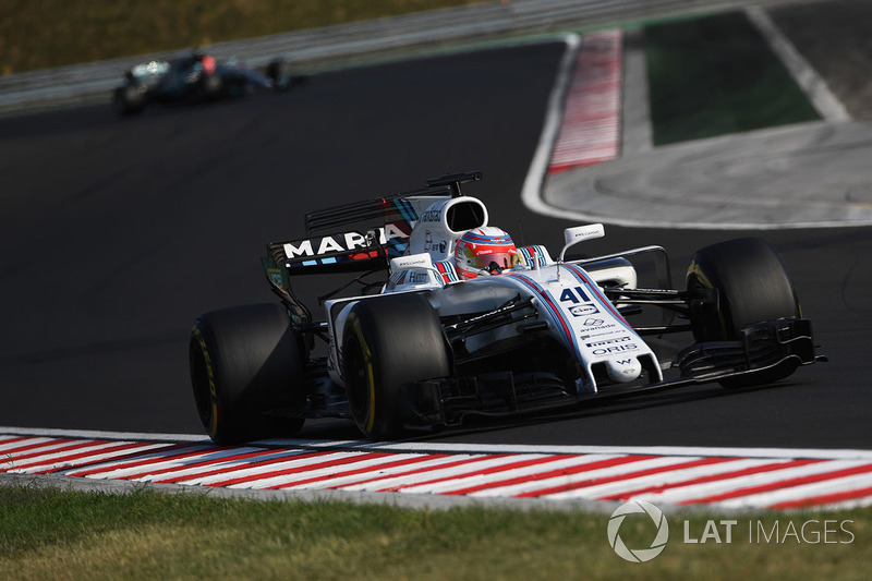 Лука Гіотто, Williams FW40