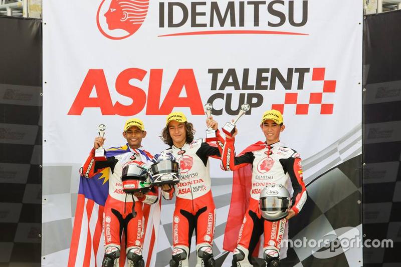 Podium Race 1 ATC Malaysia: Azroy Anuar, Can Oncu dan Gerry Salim