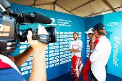 Nick Heidfeld, Mahindra Racing, Lucas di Grassi, ABT Schaeffler Audi Sport, and Jean-Eric Vergne, Te