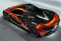 McLaren P1, McLaren renk düzeni ile