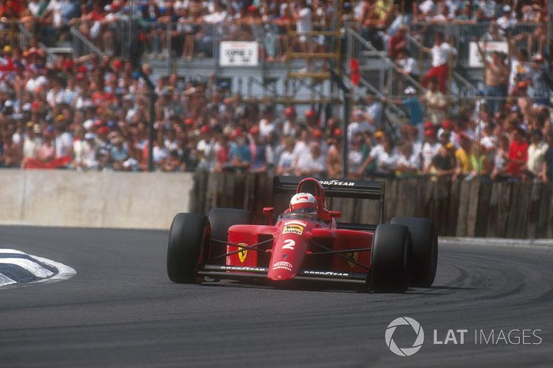 #24: Nigel Mansell, Ferrari 641, Silverstone 1990: 1:07,428