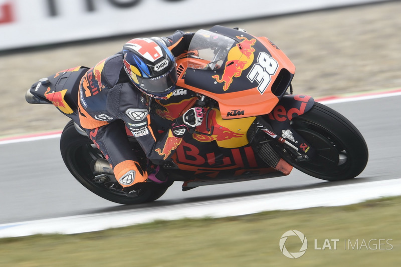 Ausfall: Bradley Smith, Red Bull KTM Factory Racing