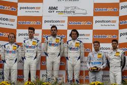 Podium: 1. #21 Mercedes-AMG Team Zakspeed, Mercedes-AMG GT3: Luca Stolz, Luca Ludwig, 2. #20 Mercede