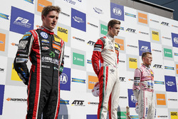 Podium: Race winner Callum Ilott, Prema Powerteam, Dallara F317 - Mercedes-Benz, second place Joel Eriksson, Motopark Dallara F317 - Volkswagen, third place Maximilian Günther, Prema Powerteam Dallara F317 - Mercedes-Benz