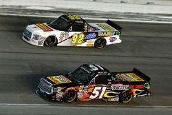Myatt Snider, Kyle Busch Motorsports Toyota and Regan Smith, Ricky Benton Racing Ford