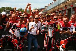 Marco Melandri, Ducati Team, Chaz Davies, Ducati Team