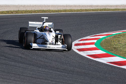 Patrick Friesacher im F1-Doppelsitzer