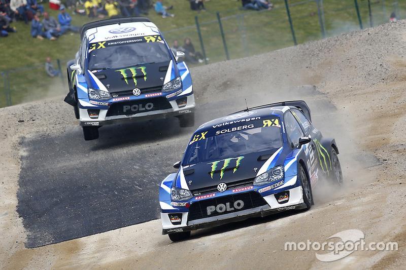 Petter Solberg, PSRX Volkswagen Sweden VW Polo Gti, Johan Kristoffersson, Volkswagen Team Sweden