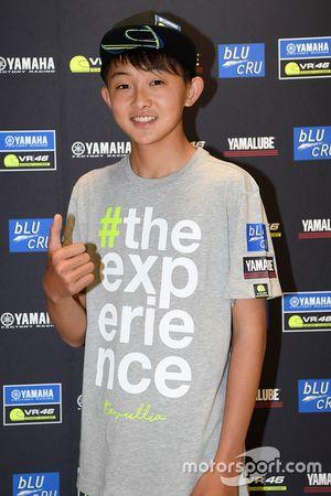 Un participant du Yamaha VR46 Master Camp