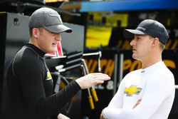 Ty Dillon, Richard Childress Racing Chevrolet and Daniel Hemric, Richard Childress Racing Chevrolet