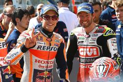 Polesitter Marc Marquez, Repsol Honda Team, Cal Crutchlow, Team LCR Honda