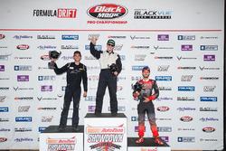 PRO 2 Podium: race winner Matt Vankirk, second place Dylan Hughes, third place Dirk Stratton
