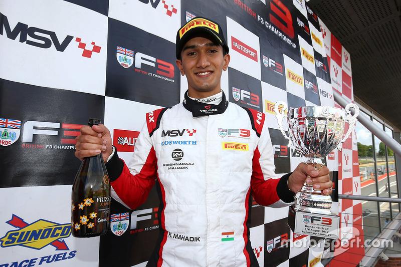 Krishnaraaj Mahadik (British F3 Brands Hatch)