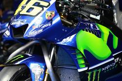 Yamaha fairing on the bike of Valentino Rossi, Yamaha Factory Racing