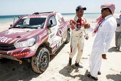 Nasser Al-Attiyah celebra la victoria