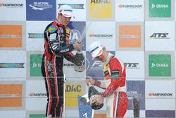 Podium: Race winner Callum Ilott, Prema Powerteam, Dallara F317 - Mercedes-Benz, second place Joel E