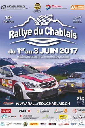 Rallye du Chablais, locandina 2017