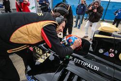 Polesitter Pietro Fittipaldi, Lotus