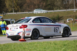 Albin Mächler, BMW M2, ACS, 2. Manche, Pylone
