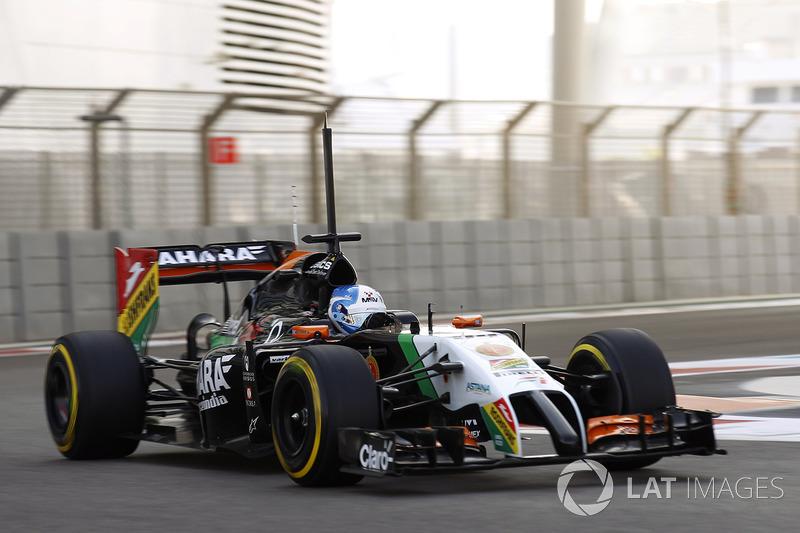 Джолион Палмер, Force India VJM07