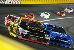 Brendan Gaughan, Richard Childress Racing Chevrolet, Sam Hornish Jr., Team Penske Ford