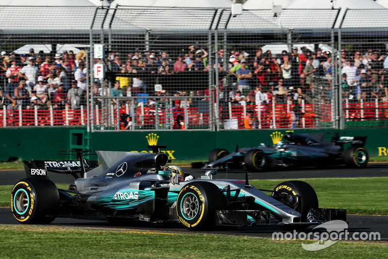 Australia 2017: Lewis Hamilton, Mercedes AMG F1 W08