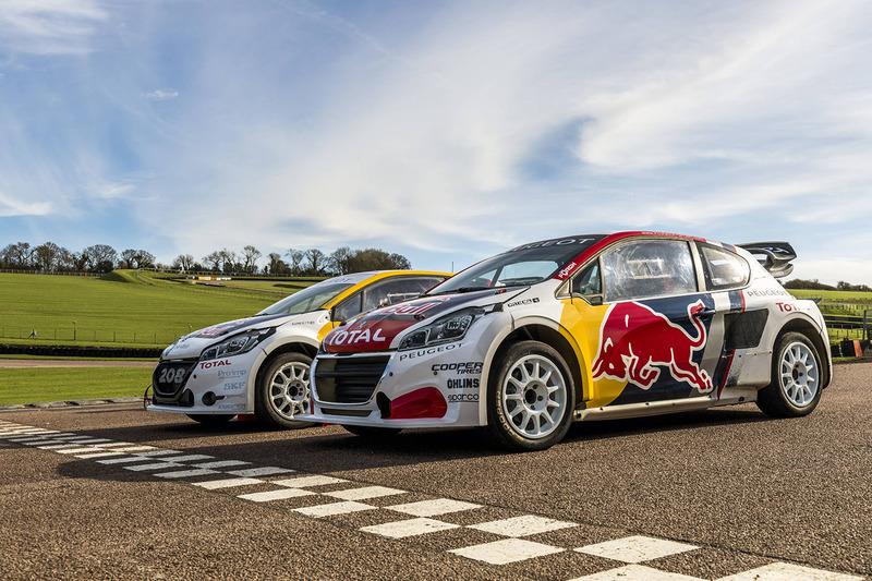 Team Peugeot Hansen cars
