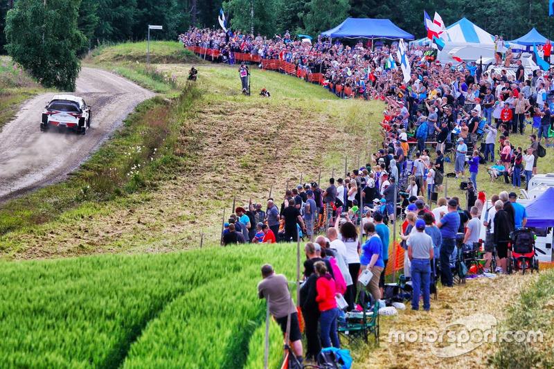 2. Rally de Finlandia 2017: 126,16 km/h