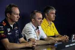 Paul Monaghan, Red Bull Racing RB13 Şef Mühendisi, Paddy Lowe, Williams Teknik Direktörü ve Nick Che