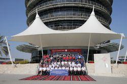 Gruppenfoto: Die WEC-Fahrer für die 6 Stunden von Bahrain