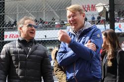 Mika Hakkinen, Jean Alesi