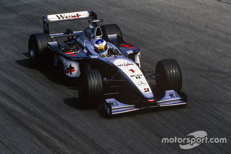 Mika Hakkinen - Two titles (1998, 1999)