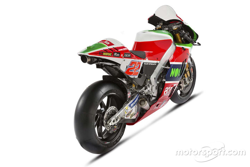 Moto de Sam Lowes, Aprilia Racing Team Gresini