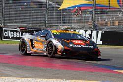#48 M Motorsport Lamborghini Gallardo R-EX: Justin McMillan, Glen Wood
