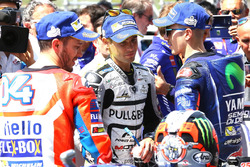Andrea Dovizioso, Ducati Team, Alvaro Bautista, Aspar Racing Team, Maverick Viñales, Yamaha Factory Racing