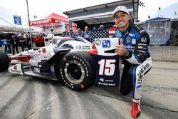 Polesitter: Graham Rahal, Rahal Letterman Lanigan Racing, Honda