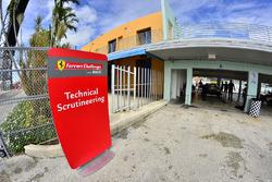 Ferrari Challenge Technical Scrutineering