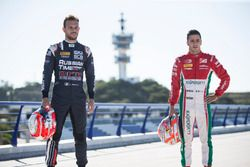 Luca Ghiotto, RUSSIAN TIME and Antonio Fuoco, PREMA Powerteam