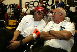 Крис Райнке, Audi Sport, и руководитель Audi Sport Team Land Motorsport Вольфганг Ланд