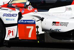 #7 Toyota Gazoo Racing Toyota TS050 Hybrid: Mike Conway, Kamui Kobayashi, Stéphane Sarrazin detail