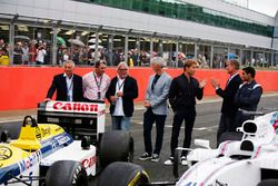Riccardo Patrese, Nigel Mansell, Keke Rosberg, Damon Hill, Nico Rosberg, David Coulthard, Karun Chan