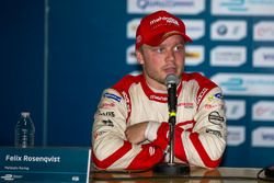 Press conference: second place Felix Rosenqvist, Mahindra Racing