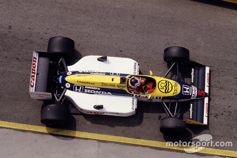 #5 : Nigel Mansell, Williams FW11B, Honda