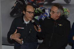 Guido Meda, Vice Direttore di Sky Sport, Franco Nugnes Direttore Motorsport.com