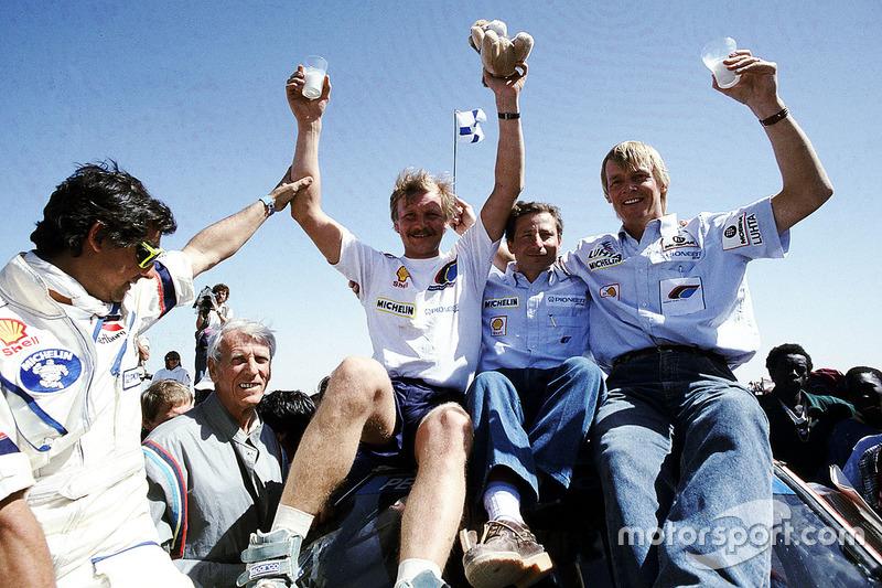 Juha Kankkunen, 1 Dakar