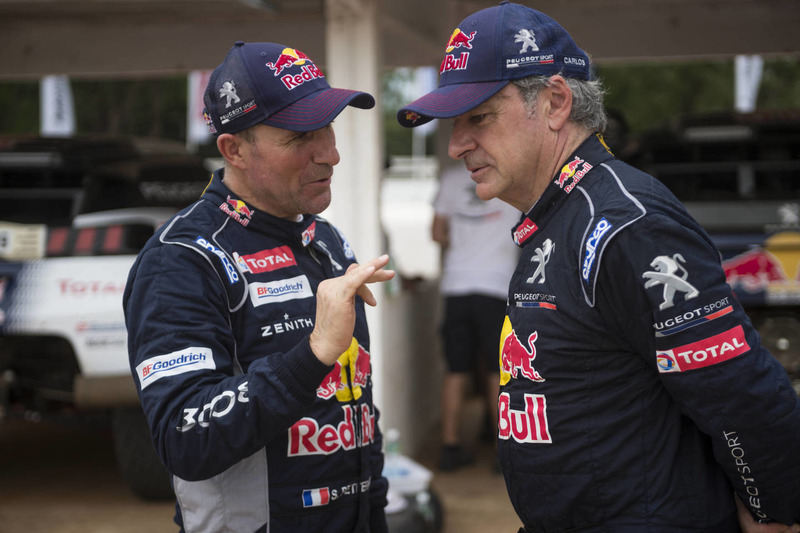 Stephane Peterhansel, Carlos Sainz, Peugeot Sport