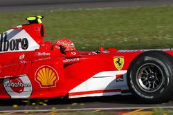 Секретные тесты Валентино Росси за рулем Ferrari F2004